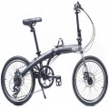 VERT V8 Aluminium Folding Bike Matt Black