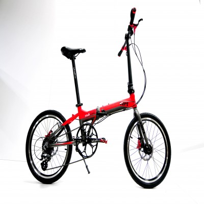 VERT RADICAL Sports Series Matt Fury Red W/ Hydraulic Brakes