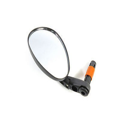 Rear View Mirror 3D Oval Shape