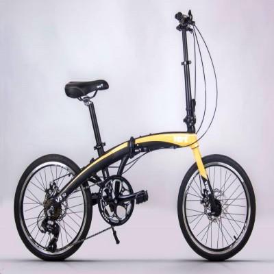 VERT V8-S2 Aluminium Folding Bike (Desert Storm)