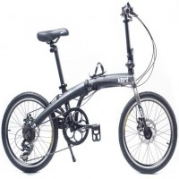 VERT V8 Aluminium Folding Bike Matt Black (NO STOCK)