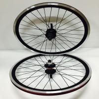 Novatec 451 Wheelset Black Hub